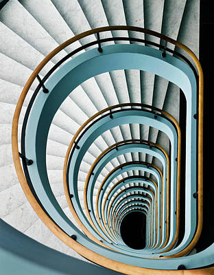 Twirl Photograph - Black Hole by Jef Van Den