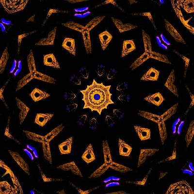 Digital Art - Black Hole  Star by Marcela Bennett