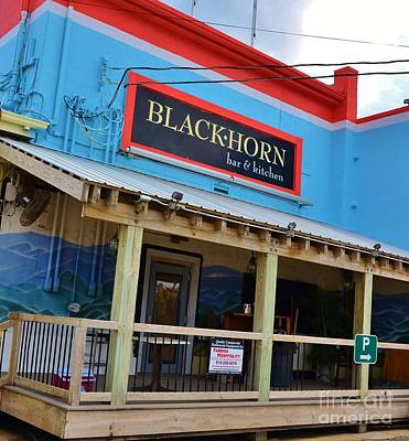 Photograph - Black Horn Bar And Kitchen by Bob Sample