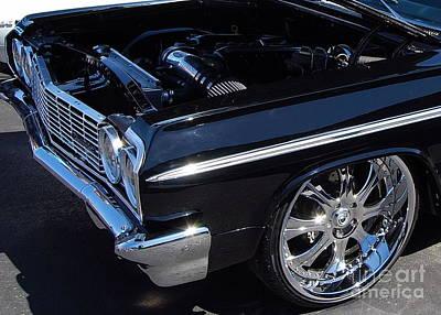 Photograph - Black Impala  by Mark Spearman
