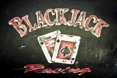Black Jack Racing Art Print by Phil 'motography' Clark