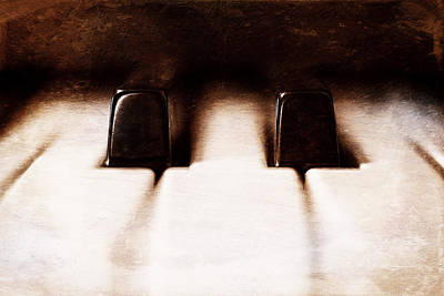 For Sale Photograph - Black Keys D Flat And E Flat  by Scott Norris