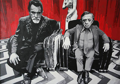 Black Lodge Art Print