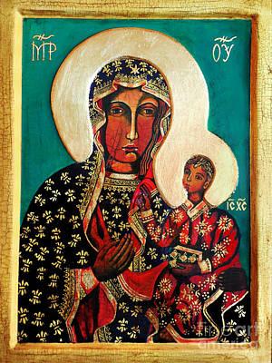 Black Madonna Of Czestochowa Icon II Original
