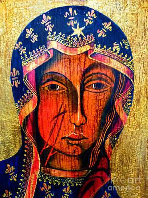 Black Madonna Of Czestochowa Original