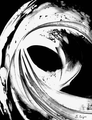 Black Magic 308 Inverted Art Print by Sharon Cummings