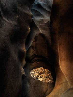 Photograph - Black Magic Canyon 1 by Leland D Howard