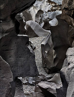 Photograph - Black Magic Canyon 13b by Leland D Howard
