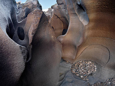 Photograph - Black Magic Canyon 3b by Leland D Howard