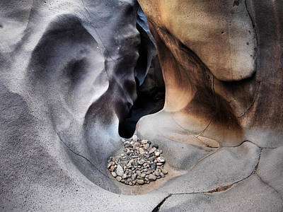 Photograph - Black Magic Canyon 5 by Leland D Howard