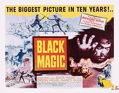 Black Magic, Us Poster, Orson Welles Art Print