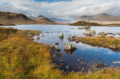 Photograph - Black Mount From Rannoch Moor  by Gary Eason