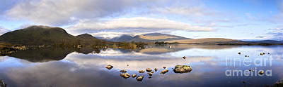 Rannoch Moor Photograph - Black Mount Panorama by Colin and Linda McKie