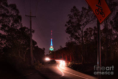 Photograph - Black Mountain Tower by Stuart Row