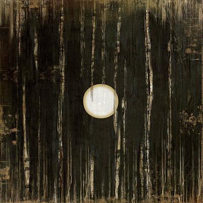 Cave Painting - Black One by Jennifer Pugh