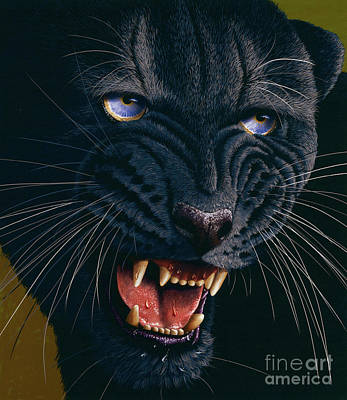Black Panther 2 Art Print by Jurek Zamoyski