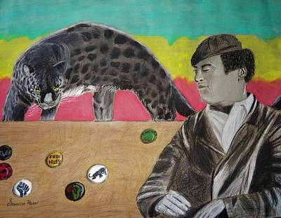 Black Panther Party Mixed Media - Black Panther by Savanna Paine