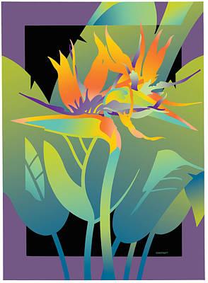 Black Paradise Art Print