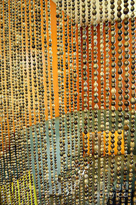 Digital Art - Black Pearl Curtain by Eva Kaufman