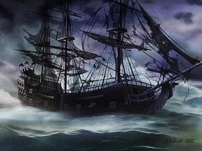 Black Pearl - Troubles Again Art Print