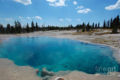 Photograph - Black Pool At West Thumb by Debra Thompson