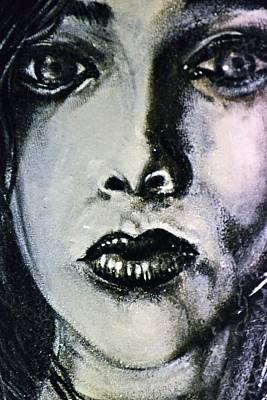 Painting - Black Portrait 14 by Sandro Ramani