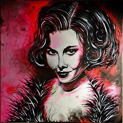 Painting - Black Portrait #21 by Sandro Ramani
