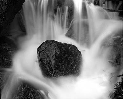 Photograph - Black Rock And Water Yosemite by Joe  Palermo