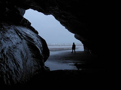 Photograph - Black Rock Cave by Russ Murry