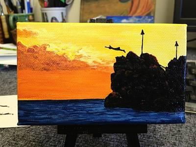 Painting - Black Rock by Darice Machel McGuire