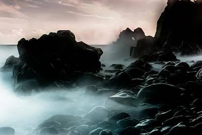 Photograph - Black Rock by Edgar Laureano