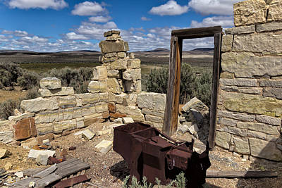 Photograph - Black Rock Homestead by Kathleen Bishop