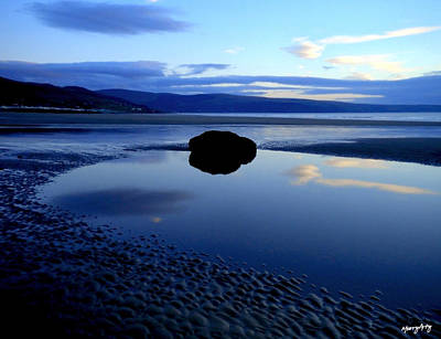 Photograph - Black Rock by Russ Murry