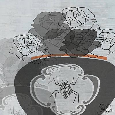 Black Roses I Art Print by Shanni Welsh