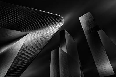 Rotterdam Photograph - Black Rotterdam by Juan Pablo De