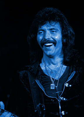 Photograph - Black Sabbath #12 In Blue by Ben Upham