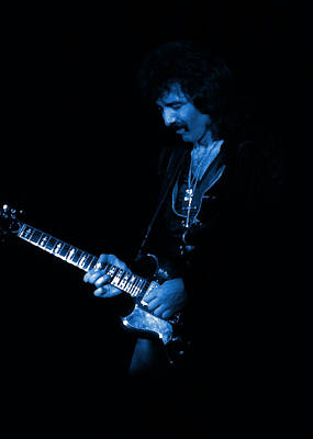 Photograph - Black Sabbath #13 Enhanced In Blue by Ben Upham