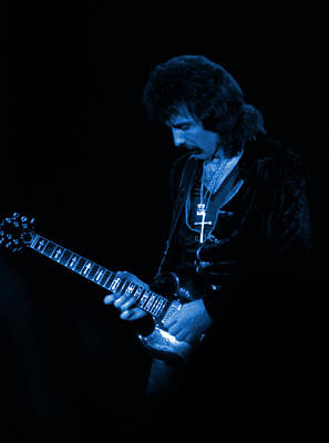 Photograph - Black Sabbath #14 In Blue by Ben Upham