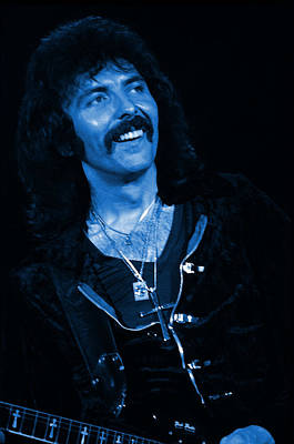 Photograph - Black Sabbath #17 Enhanced In Blue by Ben Upham