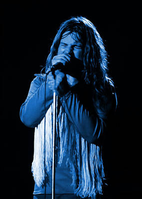 Photograph - Black Sabbath #23 Enhanced In Blue by Ben Upham