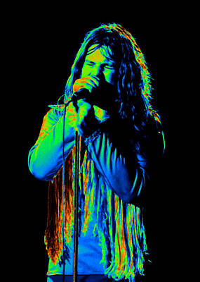 Photograph - Black Sabbath #23 Enhanced In Cosmicolors by Ben Upham