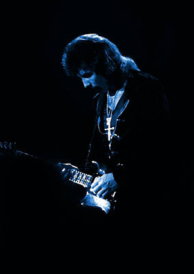 Photograph - Black Sabbath #47 Enhanced In Blue by Ben Upham
