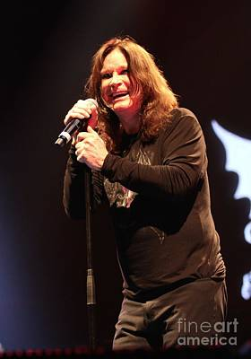 Ozzy Osbourne Photograph - Black Sabbath - Ozzy Osbourne by Concert Photos