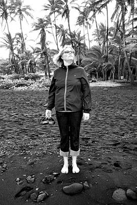 Photograph - Black Sand Defiance by Robert Meyers-Lussier