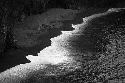 Photograph - Black Sands by Brad Brizek