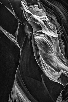 Photograph - Black Sandstone by Andy Bitterer