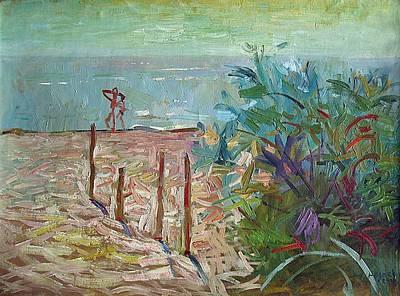Racei Painting - Black Sea In Sergeevka - Ukraine. 2008 by Yuri Yudaev