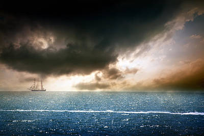 Photograph - Black Sea Sunset  by Svetoslav Sokolov