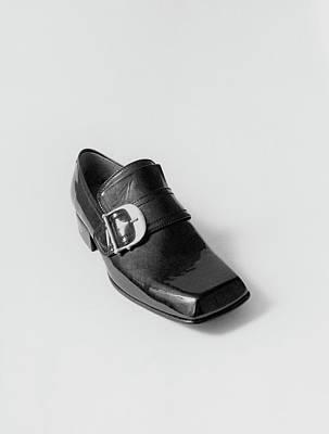 Photograph - Black Shoe by Leonard Nones
