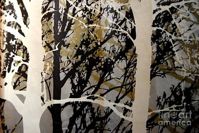 Photograph - Forest - Black Tan Cream 6 Of 10 by Jacqueline M Lewis